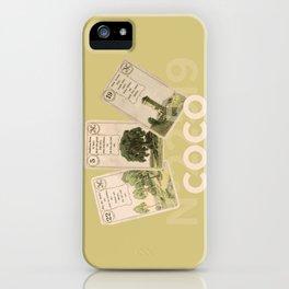 Mademoiselle Coco's desk iPhone Case