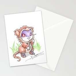 Rat-ical Rodent Stationery Cards