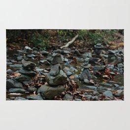Stacked Rocks Rug
