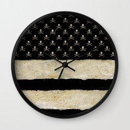 Triple Striped Wall Clock