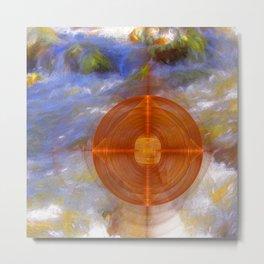 Portal to the wonderful water world Metal Print