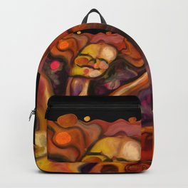 """Happiness Colorful Woman"" Backpack"