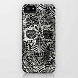 Lace Skull iPhone Case