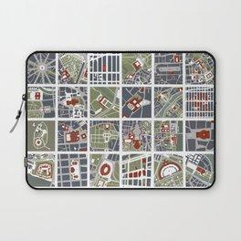Urban fragments I of NewYork, Paris, London, Berlin, Rome and Seville Laptop Sleeve