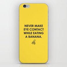 Eating a Banana iPhone & iPod Skin