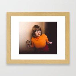 Nana Bear Velma Dinkley Cosplay Framed Art Print