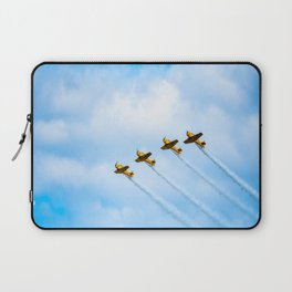 aircraft vintage airplanes aviation Laptop Sleeve