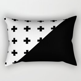 Memphis pattern 76 Rectangular Pillow