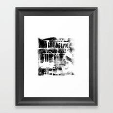 aftershock Framed Art Print