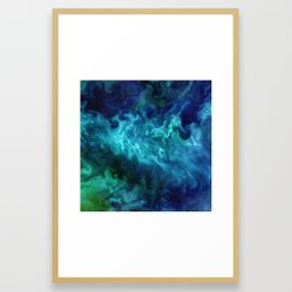 The Art of Nature - Churning in the Chukchi Sea Framed Art Print