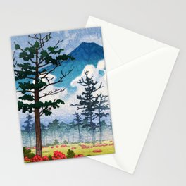 Kawase Hasui - Nikko, Senjyogahara - Digital Remastered Edition Stationery Cards