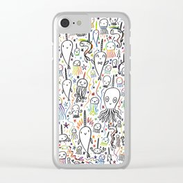 SEA-PLOSION Clear iPhone Case