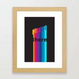 High There II Framed Art Print