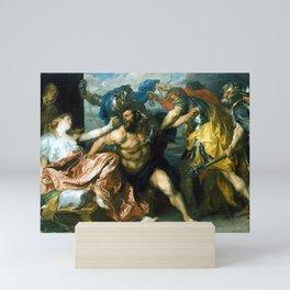 Anton van Dyck Samson and Delilah Mini Art Print