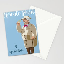Agatha Christie's Hercule Poirot Stationery Cards