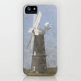 Sibsey Trader windmill iPhone Case