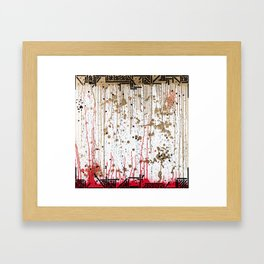 Blood to Gold Framed Art Print