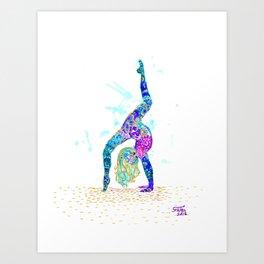 :) Art Print