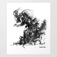 Woodwind Art Print