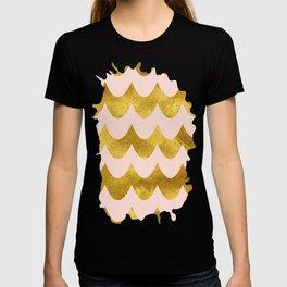 Pink Gold Foil 04 T-shirt