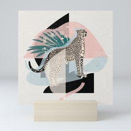 Majesty Cheetah I. Mini Art Print