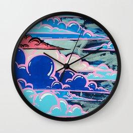 Cake Clouds Wall Clock