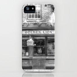 The Golden Lion Pub York iPhone Case