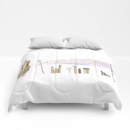 Italian Chimneys Comforters