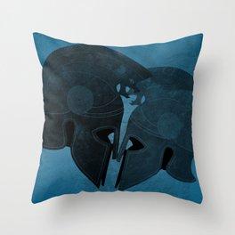 Helmet love Throw Pillow