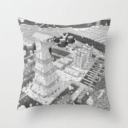 Frackpool 03 Throw Pillow