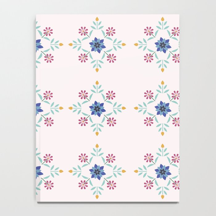 Floral Pattern #3 Notebook