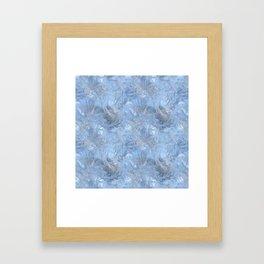 Fantasy Ice Framed Art Print