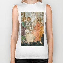 """Sandro Botticelli """"Venus and the Three Graces Presenting Gifts to a Young Woman"""" Biker Tank"""