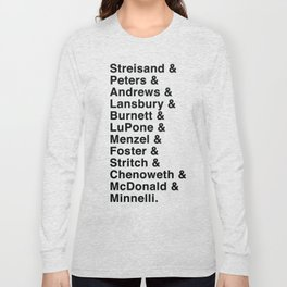 Broadway Lady Legends Long Sleeve T-shirt