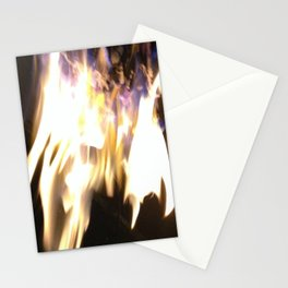 Blue Flame Stationery Cards