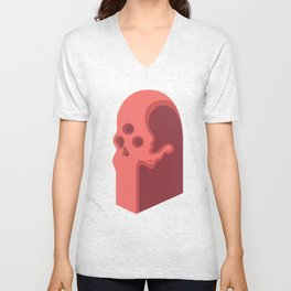 Edgar's Skull Totem Unisex V-Neck