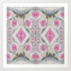 An Abundance of Magical Crystal Candies Art Print