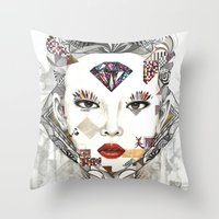 sublime Throw Pillows featuring Sublime by Teixeira Emanuel (Etex85)
