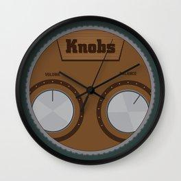 Knobs Wall Clock