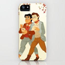 Fall Klaine iPhone Case