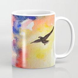Parrots in the Rainblow Coffee Mug