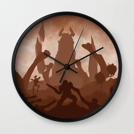 DOOM Wall Clock