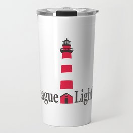 Assateague Lighthouse - Virginia. Travel Mug