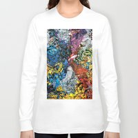 xmen Long Sleeve T-shirts featuring The XMen by MelissaMoffatCollage
