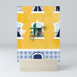 Lisbon girl Mini Art Print