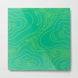 Green Moss Metal Print