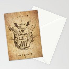 081 Mazinger Z Project Stationery Cards