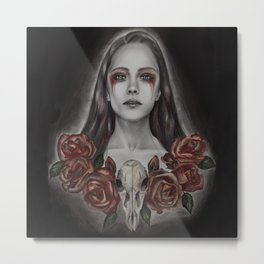 Red poison Metal Print