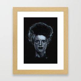 Bride of Frankenstein Framed Art Print