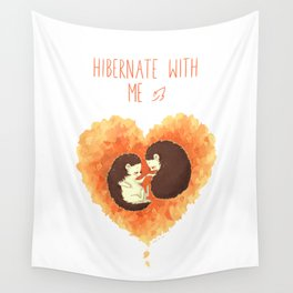 Hibernate with Me Wall Tapestry